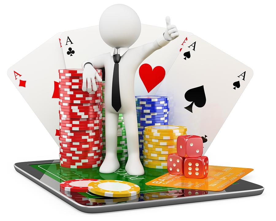 bigstock D Man Casino Online Games 32600003 Qlickit